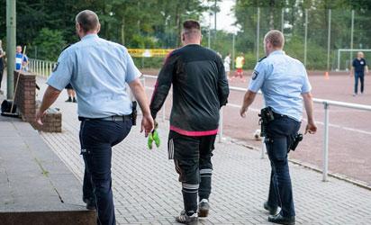 goalkeeper-arrested