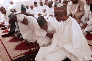 el-rufai-amosun-pray-with-buhari