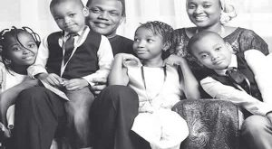 Mohammed-Babangida-and-wife-Rahama-Indimi-with-Children-600x330