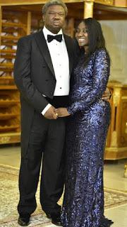 Real Estate Billionaire, Sir Olu Okeowo and wife
